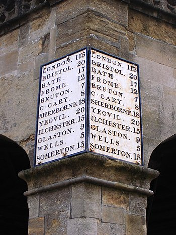 "English: Market Cross Shepton Mallet - ""M..."