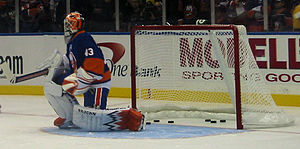 Martin Biron - Biron with the Islanders