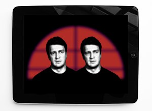 Nathan Fillion - Nathan Fillion in Metascifi, artist's impression 2014