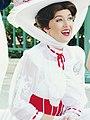 Mary Poppins heureuse de rencontrer ses fans.jpg