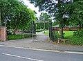 Mary Stevens Park entrance in Stanley Road - geograph.org.uk - 1376788.jpg