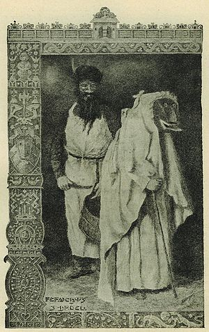 Perchta - Peruehty in Kingdom of Bohemia. 1910