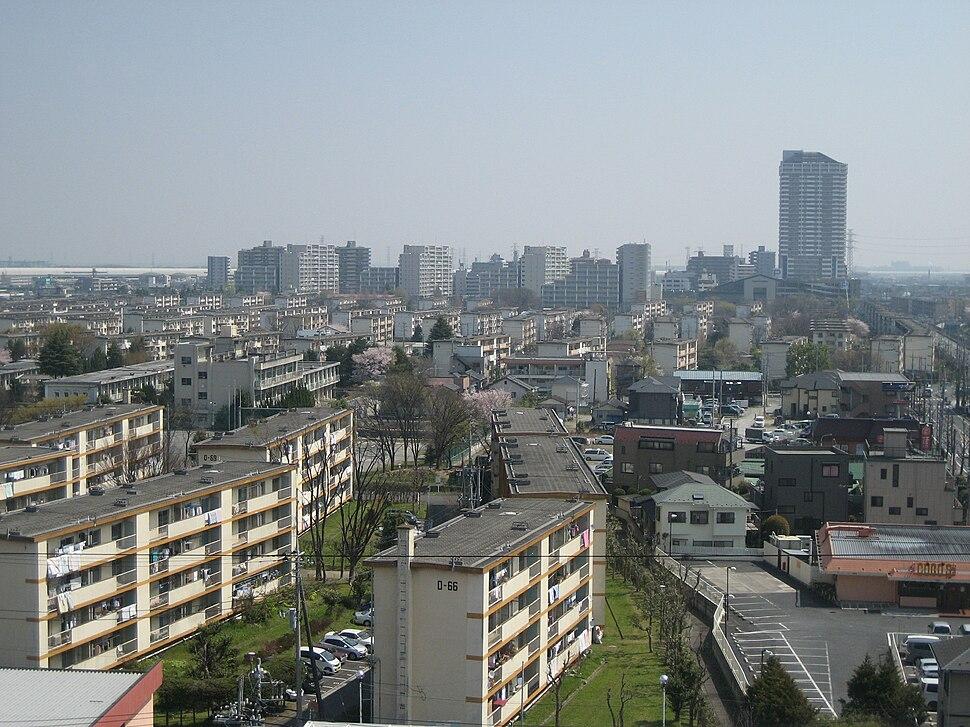 Matsubara-danchi 004, Soka, Saitama prefecture, Japan