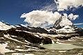 Matterhorn Panorama vom Trockenen Steg aus gesehen - panoramio.jpg