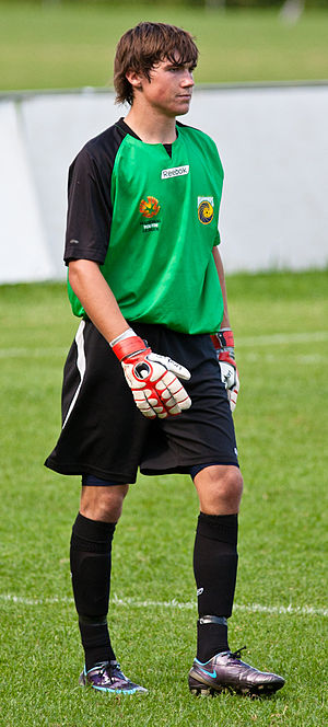 Mathew Ryan - Ryan playing for the Central Coast Mariners in 2010