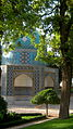 Mausoleum of Attar - Norhthwest view - morning - Nishapur.JPG