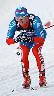 Russian cross-country skier