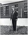 Mayor John F. Collins speaking in front of scoreboard (10695848736).jpg