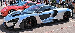 McLaren Senna sports car designed by McLaren Automotive