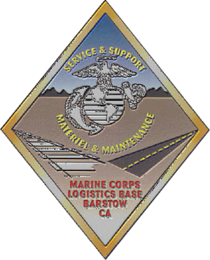 Marine Corps Logistics Base Barstow - Image: Mclb barstow insig