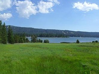 Wet meadow - A wet meadow in the San Bernardino Mountains, CA, USA.