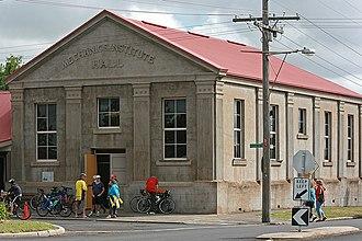 Macarthur, Victoria - Mechanics' Institute Hall