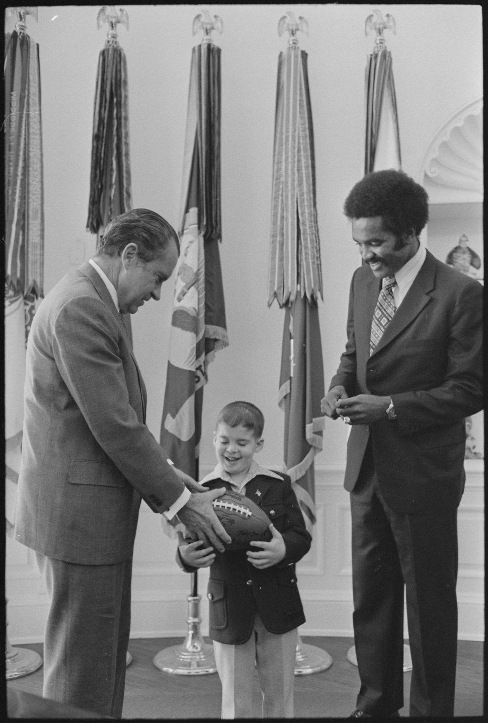 Meeting with 1972 Poster Child of the National Association for Retarded Children - NARA - 194760