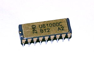 Economy of the German Democratic Republic - U61000: the first 1-Mbit memory chip produced by the GDR