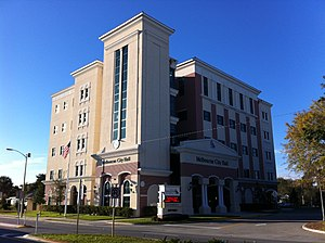 Melbourne City Hall (Melbourne, Florida) 001.jpg