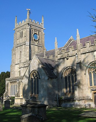 Melksham - The parish church of St. Michael and All Angels was built in the 12th century
