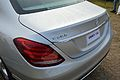 Mercedes-Benz - C 200 - 1991 cc - 4 cyl - Rear View - Kolkata 2015-01-11 3787.JPG