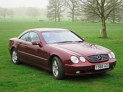 Mercedes-Benz CL 500 (1999–2002)
