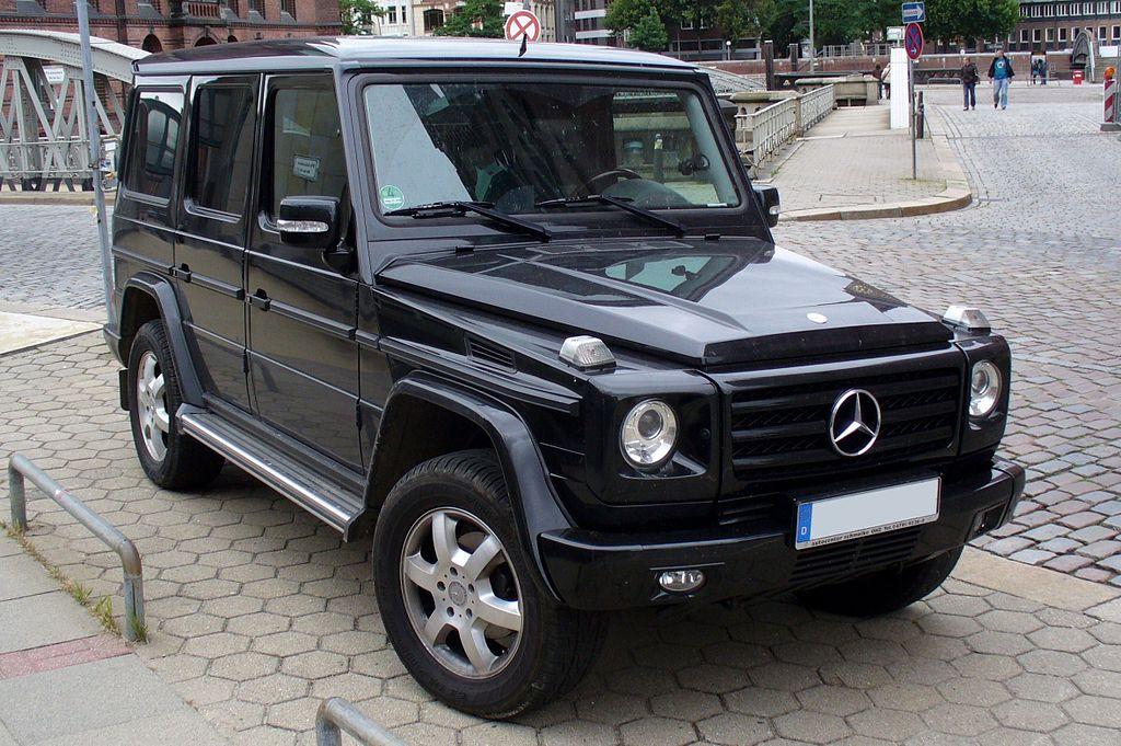 Mercedes G Wagon Amg V