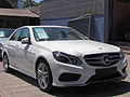 Mercedes Benz E 250 CGi Avantgarde 2014 (12510608183).jpg