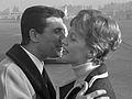 Merel Laseur en Gilbert Becaud (1965).jpg