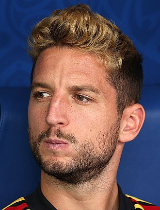 Dries Mertens - Mertens with Belgium at the 2018 FIFA World Cup