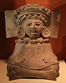 Messico, zapotec, urna ceramica, dallo stato di oxaca, 200-800 dc ca. 04.jpg