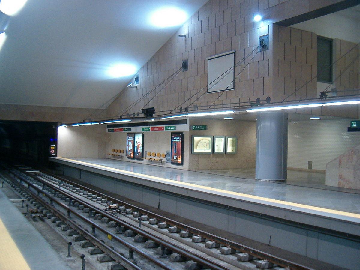 En el anden del metro - 1 part 2
