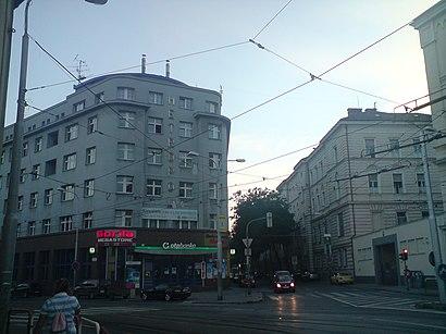 Ako do Mickiewiczova hromadnou dopravou - O mieste