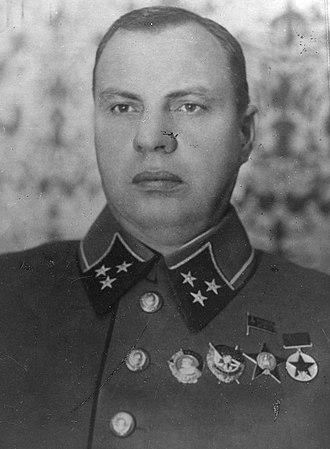 Mikhail Khozin - Image: Michail Sjemjonovič Chosin
