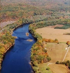 Middle Delaware River above Walpack Bend crop