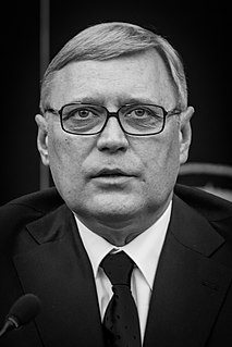 Mikhail Kasyanov Russian politician, Prime Minister of Russia (2000–2004)
