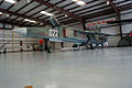 Mikoyan-Gurevich MiG-23UB Flogger-C LSideFront Low CWAM 8Oct2011 (14607919806).jpg