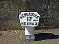 Mile Marker, Corbridge - geograph.org.uk - 1261474.jpg