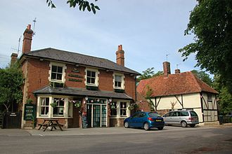 Milton, Vale of White Horse - The village pub in 2012, when it was still the Admiral Benbow
