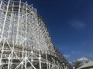 Mine Blower roller coaster in Florida