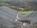 Mine waste tips at Cwmnewydion - geograph.org.uk - 285920.jpg