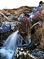 Mini waterfall, Bizziard Fell - geograph.org.uk - 643062.jpg