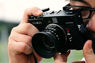 Minolta CLE 35 mm rangefinder camera