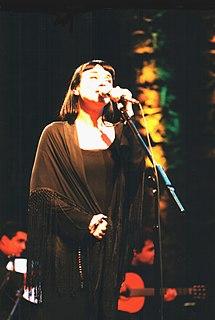 Mísia Portuguese fado singer