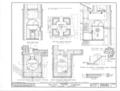 Mission Santa Barbara, 2201 Laguna Street, Santa Barbara, Santa Barbara County, CA HABS CAL,42-SANBA,5- (sheet 24 of 30).png