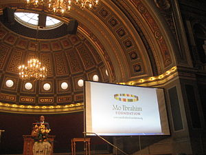 Mo Ibrahim Foundation - Mo Ibrahim (Uppsala, Sept. 2014)