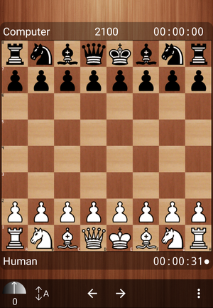 Free Internet Chess Server - Mobile Interface