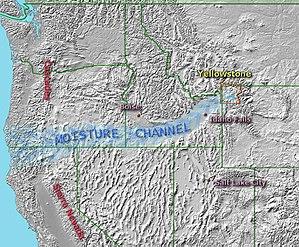Ashton, Idaho - Moisture Channel