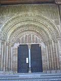 Monasterio de Leyre, porta Speciosa.JPG
