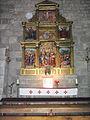 Monasterio de Leyre, retablo de las santas Nunilo y Alodia.JPG