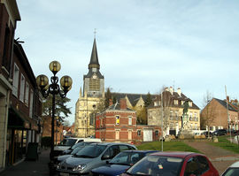 The church in Montdidier