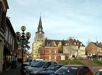 Montdidier, Somme - Image: Montdidier Place Parmentier 1