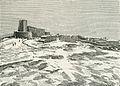 Monte Sant'Angelo castello detto Gigante xilografia.jpg
