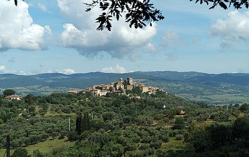 Montemerano, panorama